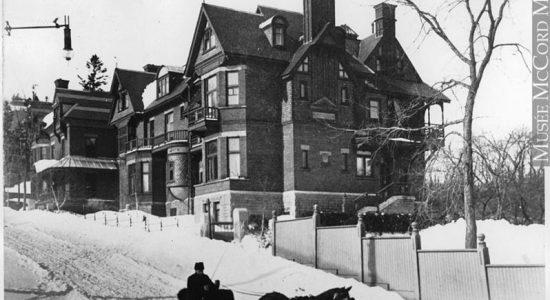 Maison Redpath vers 1890
